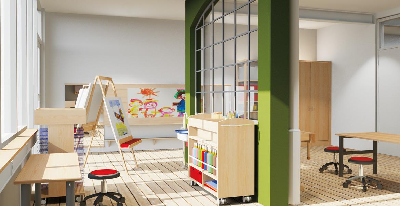 Planungen service von dusyma fachberatung vor ort for Raumgestaltung hort