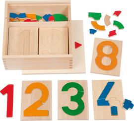 Kreisel aus Holz Spiel Spaß & Lernen 6 Stück mit farbenfroher Bemalung