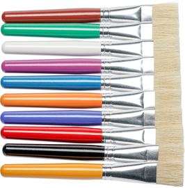 5 cm für Acrylfarben Creatieve hobby's 2 extra breite Synthetik Pinsel Flachpinsel  ca 4