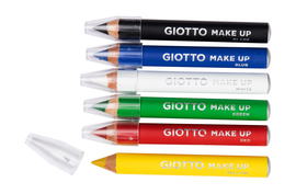 Giotto Make-up, Schminkstifte Basic Artikelbild Vorderansicht M