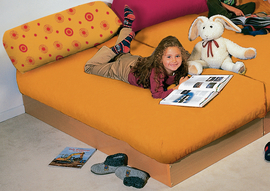 rundpolster 80 x 25 cm schwer entflammbar kuschelecken. Black Bedroom Furniture Sets. Home Design Ideas