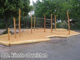 Holz Kletter Bogen : Klettern und balancieren spielplatzgeräte