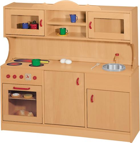 Landhaus Küchenzeile Artikelbild Vorderansicht L