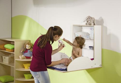 wandwickelplatz f r 3 6 j hrige wickelbausteine. Black Bedroom Furniture Sets. Home Design Ideas